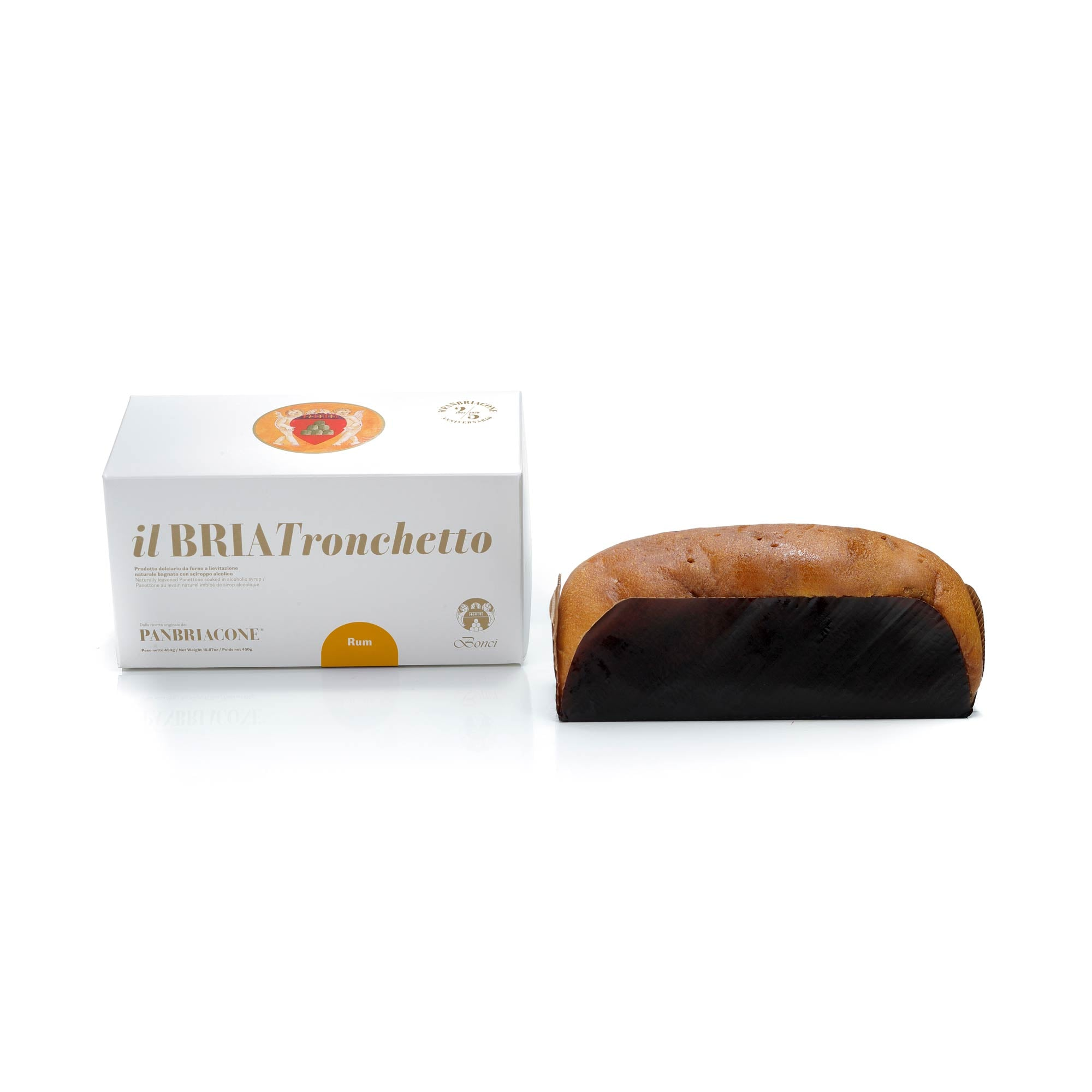 The BRIA Tronchetto - Dark Chocolate & Rum 450g
