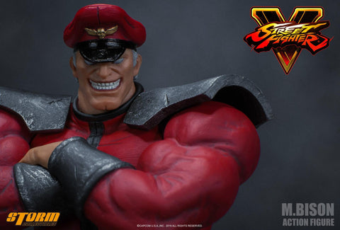 M. BISON - Street Fighter V Action Figure