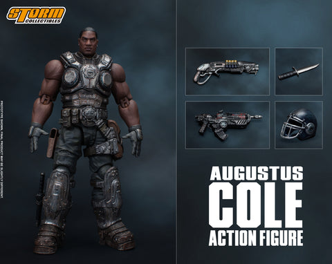 AUGUSTUS COLE - GEARS OF WAR