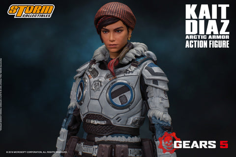 KAIT DIAZ ARCTIC ARMOR - GEARS OF WAR 5 Action Figure