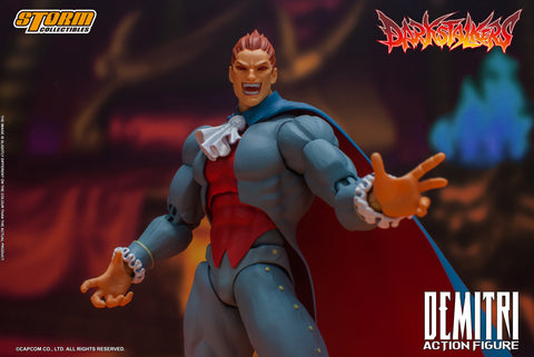 DEMITRI MAXIMOFF - DARKSTALKERS ACTION FIGURE
