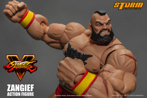 """ZANGIEF""  Street Fighter V Action Figure Preorder NOW!"