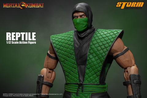Reptile - Mortal Kombat 1:12 Action Figure