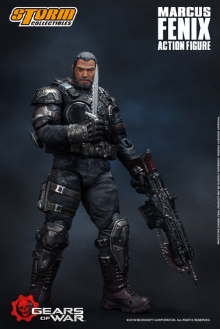 Marcus Fenix Gears Of War Storm Collectibles