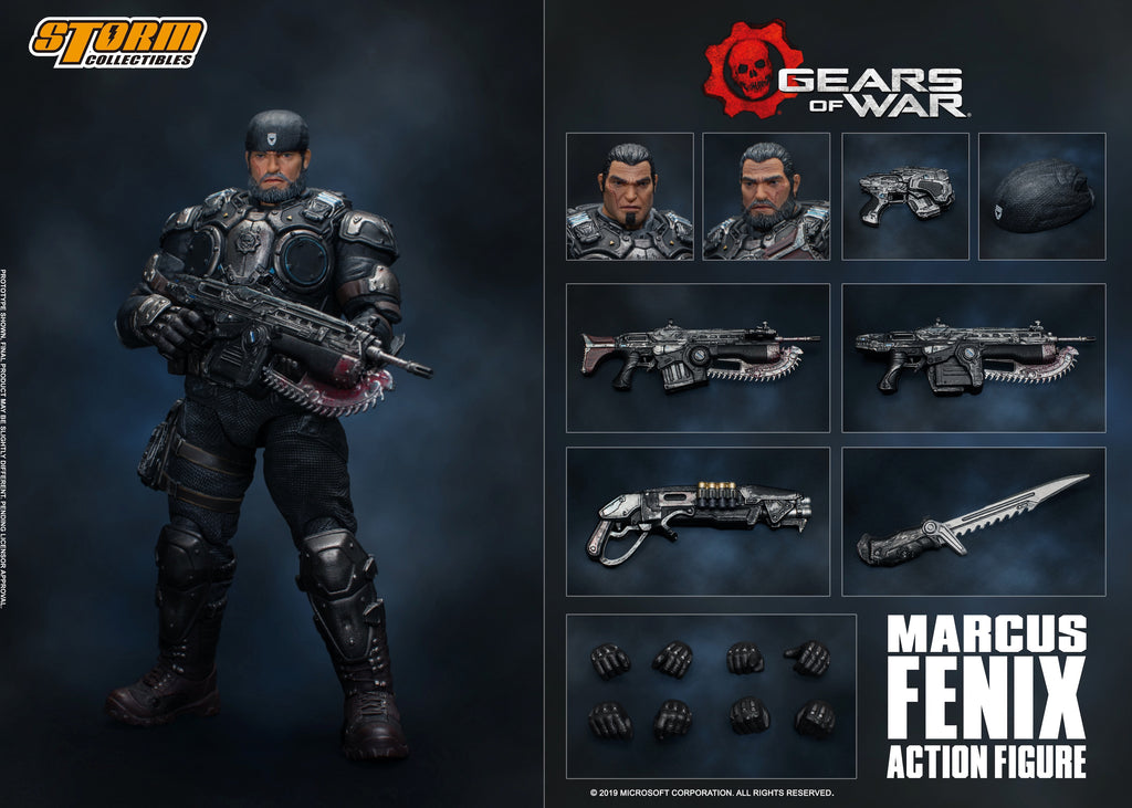 Marcus Fenix Gears Of War
