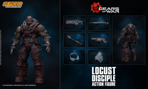DISCIPLE - LOCUST DRONE - GEARS OF WAR