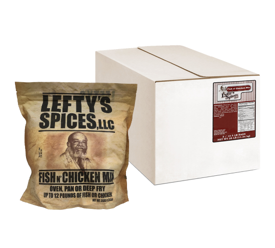 lefty's wholesale fry batter in box