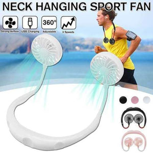 Cool-Air Neck Hanging Fan