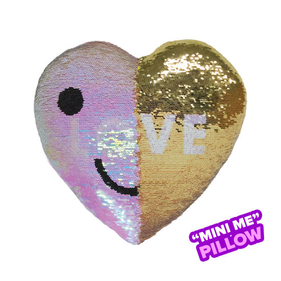 MINI REVERSIBLE SEQUIN PILLOW