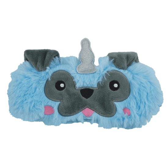 PUGICORN FURRY EYE MASK
