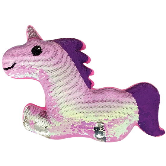 MAGICAL UNICORN REVERSIBLE SEQUIN PILLOW