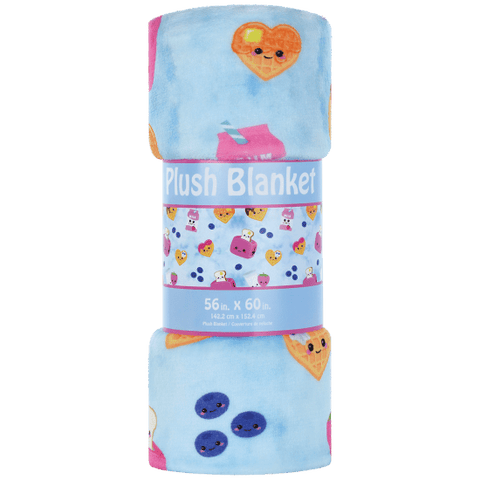 breakfast buddies fun plush blanket
