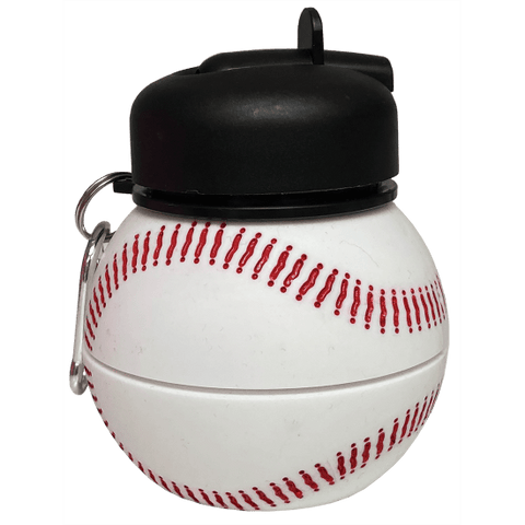 baseball collapsible water bottle