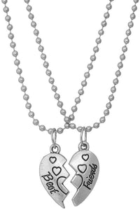 BEST FRIENDS HEARTS NECKLACES