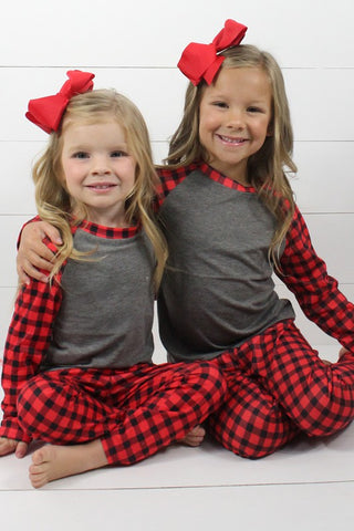 buffalo plaid pjs