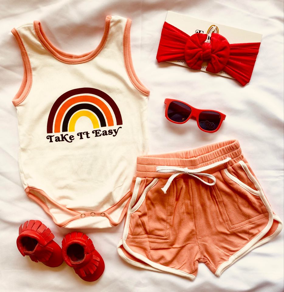 TAKE IT EASY PINK SUMMER SET (9183)