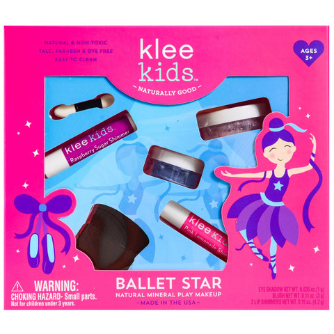 Ballet Star - Klee Kids Natural Mineral Play Makeup Kit
