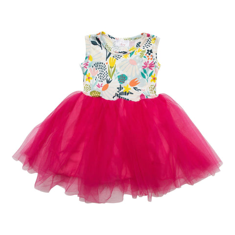 flower market tutu dress
