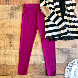 BASIC WINE LEGGING