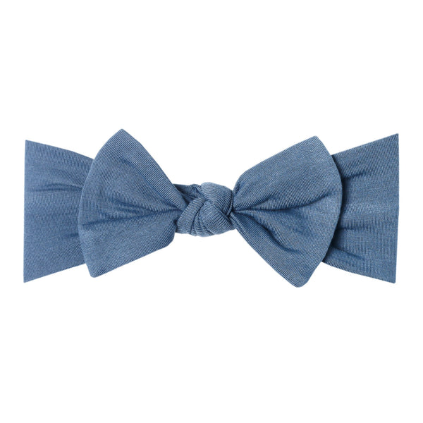 STEELE KNIT HEADBAND BOW