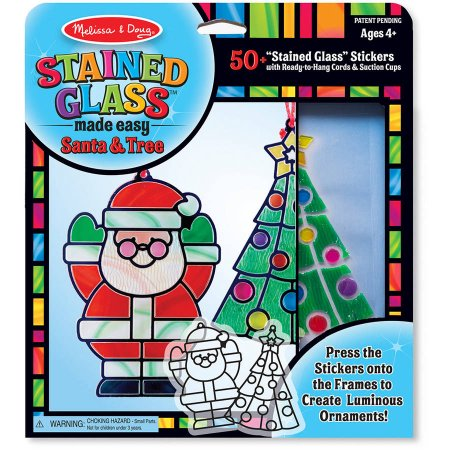 STAINED GLASS MADE EASY ~ SANTA CLAUS