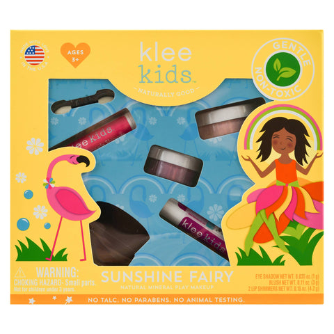 Sunshine Fairy - Klee Kids Natural Mineral Play Makeup Kit