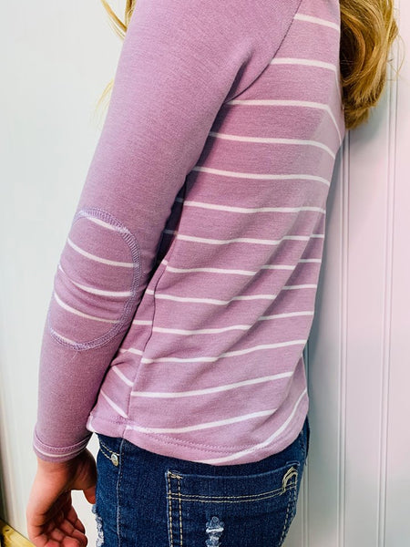 LIVIA LAVENDER GIRLS L/S TOP