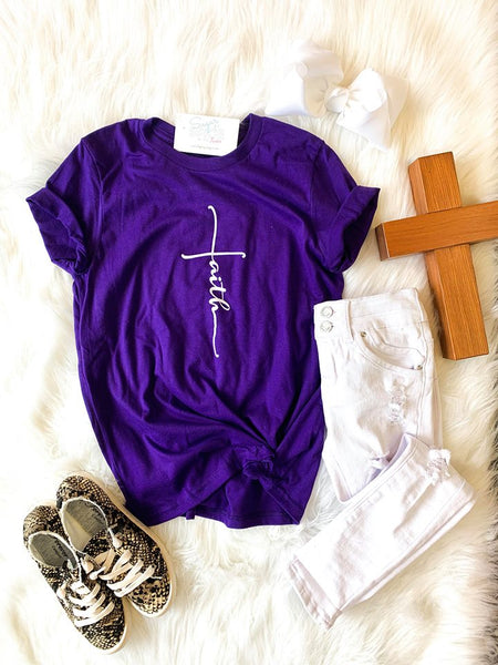 FAITH GRAPHIC TEE