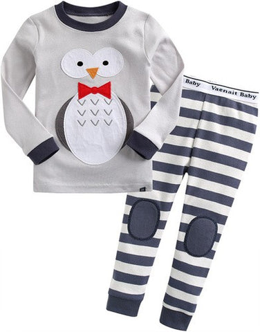 snow owl pajama set