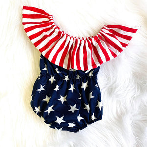 BABY IS A FIRECRACKER ROMPER