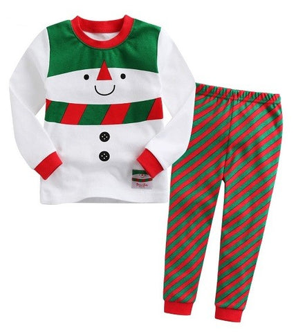snow carol pajama set