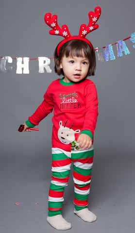 santas little helper pj set