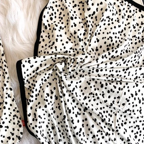 SEEING SPOTS SWADDLE BLANKET
