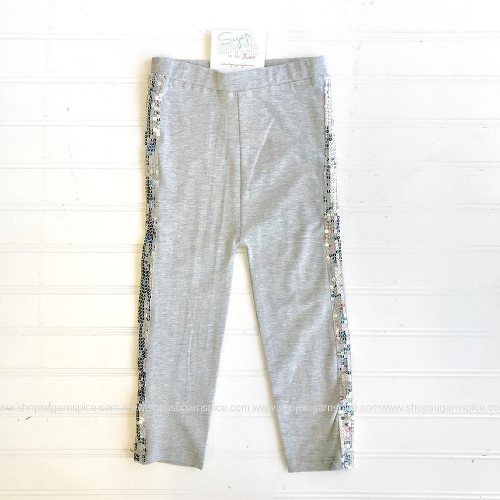 GRAY DAZZLE LEGGINGS