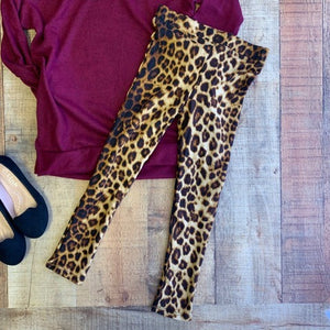 CAN'T BE TAMED TODDLER LEOPARD LEGGING