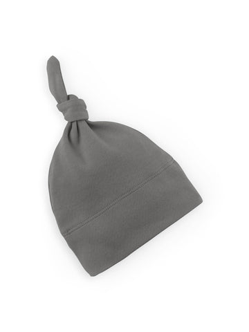 Knotted Hat - Pewter