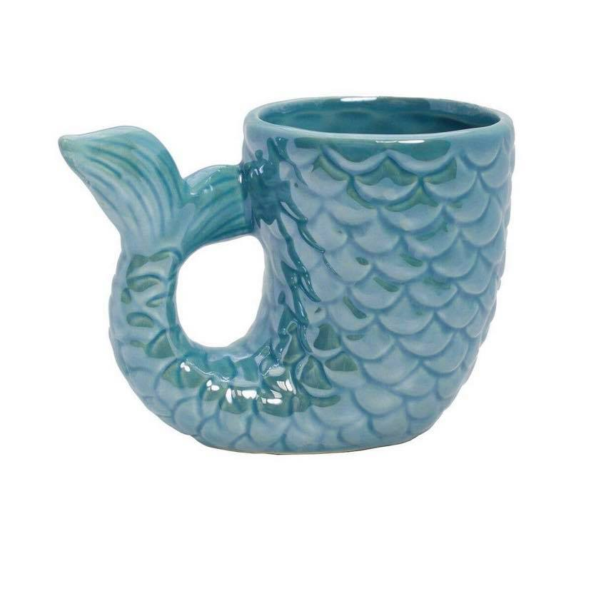 MERMAID TALL MUG