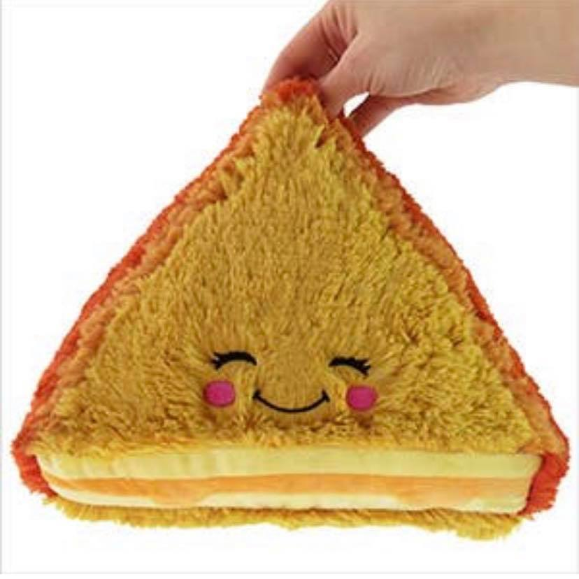 MINI SQUISHABLE GRILLED CHEESE 7""