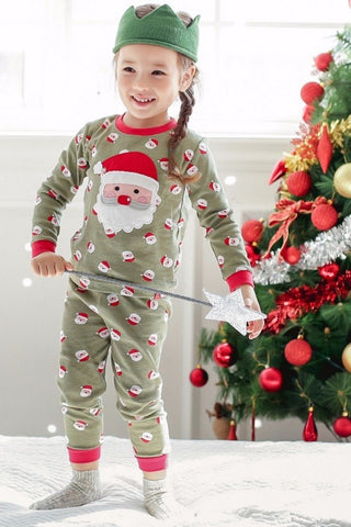 cookie santa pajama set