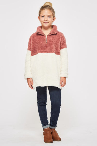 GABRIELLE COLOR BLOCK PULLOVER