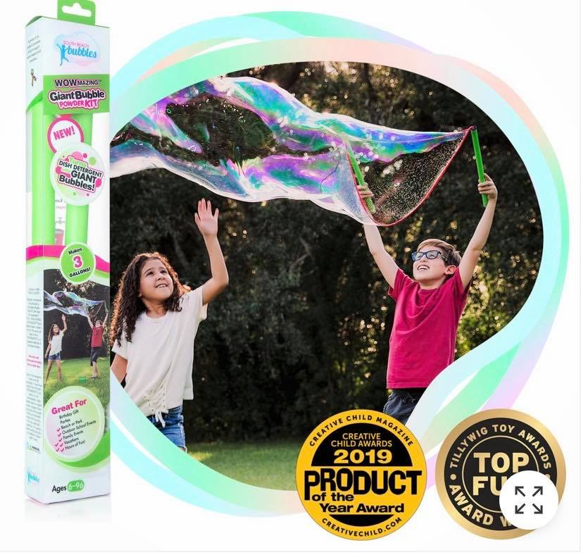 WOWmazing GIANT BUBBLE WAND  KIT (8729)
