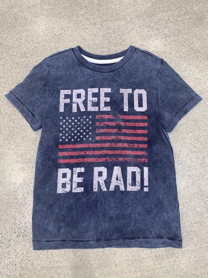 FREE TO BE RAD