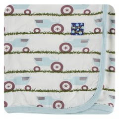 NATURAL TRACTOR AND GRASS SWADDLE