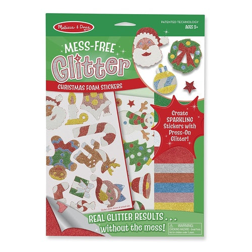 MESS FREE GLITTER FOAM STICKERS