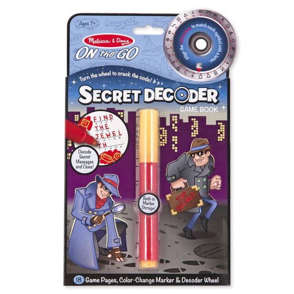 SECRET DECODER BOOK