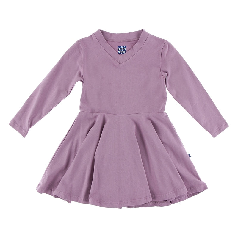PEGASUS L/S PERFORMANCE JERSEY SKATER DRESS