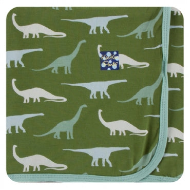 MOSS SAUROPODS SWADDLING BLANKET