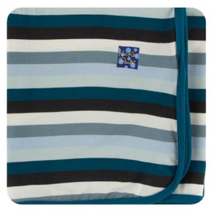 METEOROLOGY STRIPE SWADDLING BLANKET