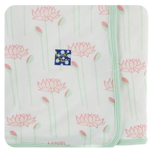 NATURAL LOTUS FLOWER SWADDLING BLANKET