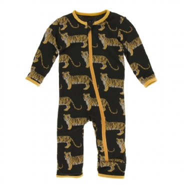 ZEBRA TIGER COVERALL